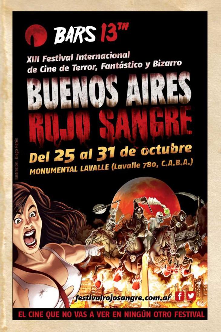 13 Edición Buenos Aires Rojos Sangre