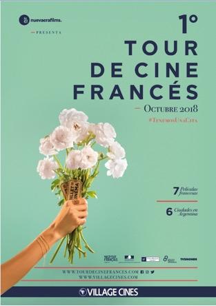 1° Edición del Tour de Cine Francés