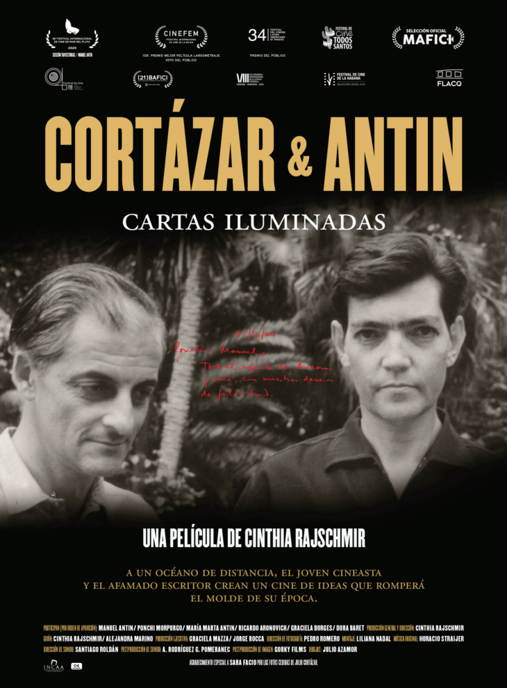 Cortázar & Antin, cartas iluminadas